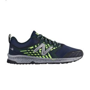New Balance Navy and neon green Athletic shoes